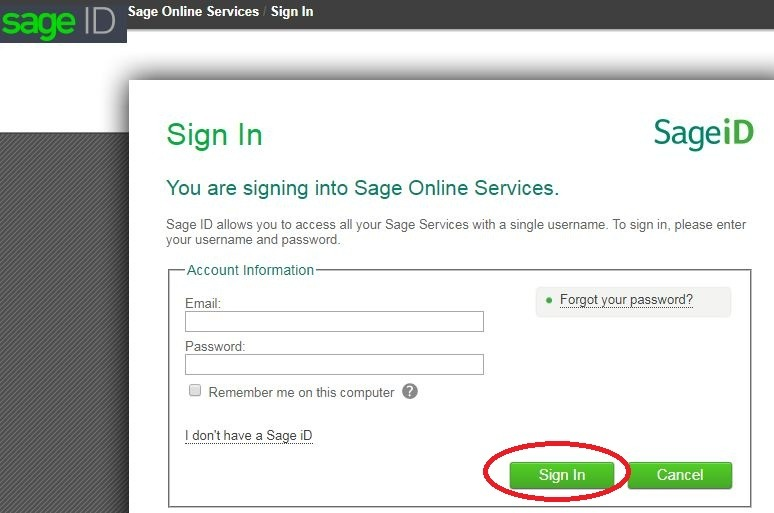 Sage online payslips
