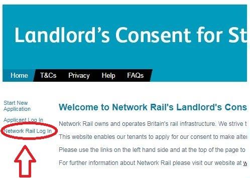 Network Rail Epay