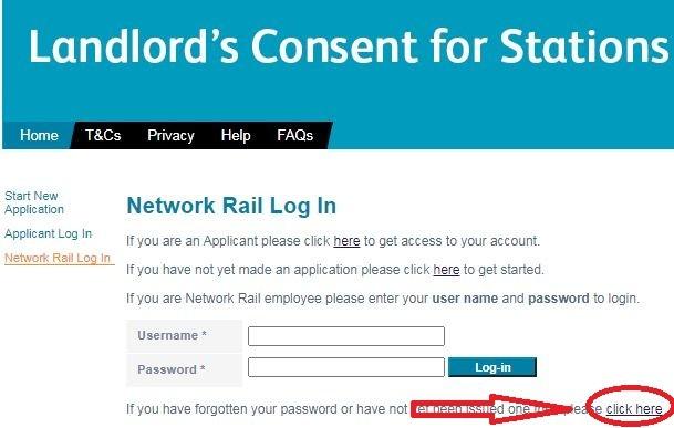 network rail login
